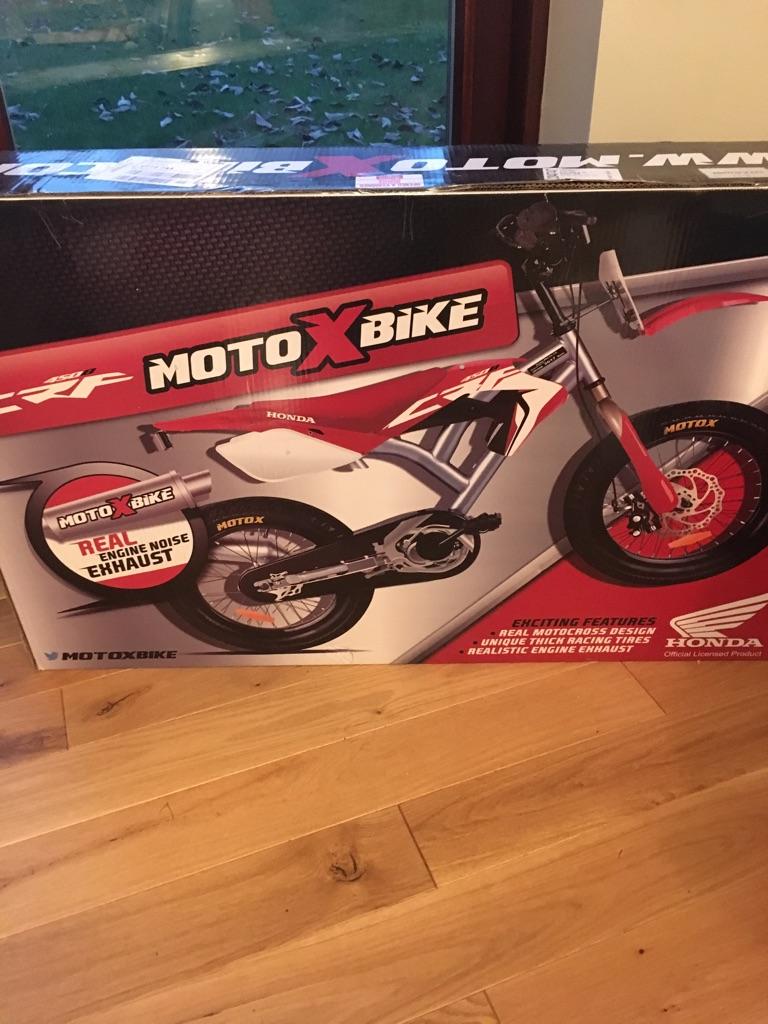 """16"""" boys motoXbike. Brand new. Boxed"""