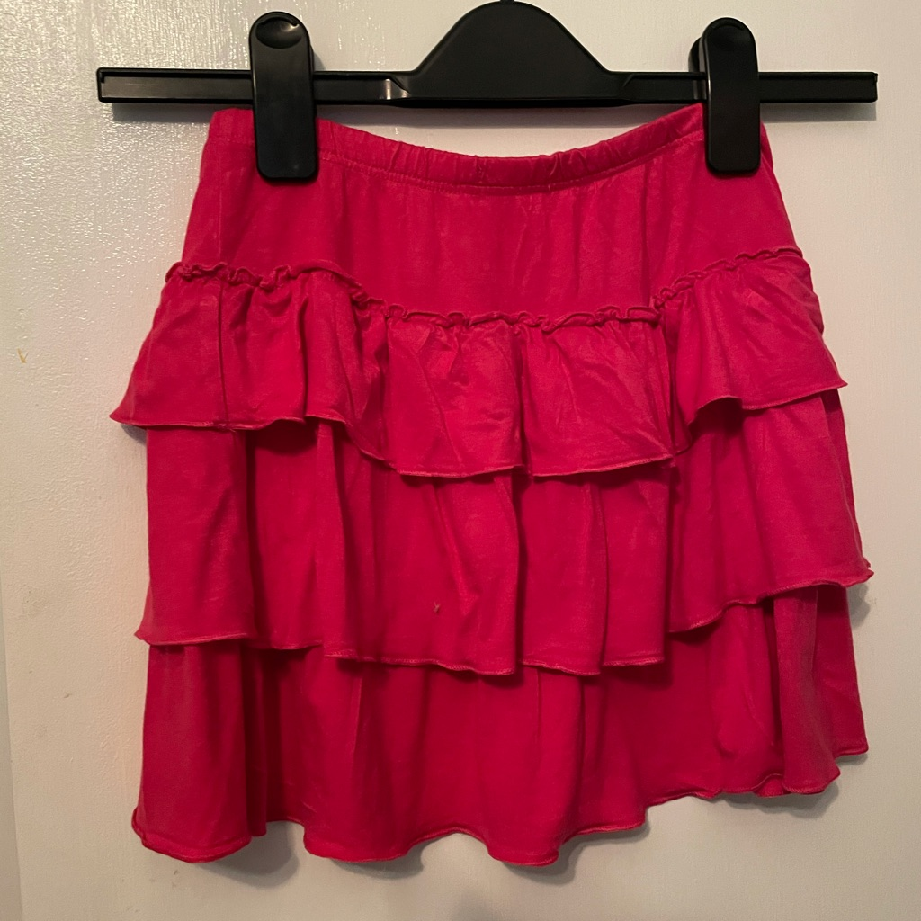 Girls Summer Ruffle Skirt age 6-7