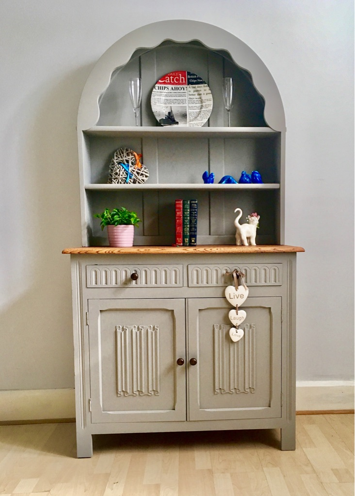 Unique Farmhouse Style Cabinet Welsh Dresser