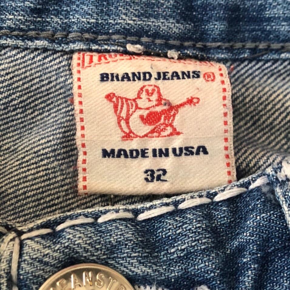 vintage blue true religion jeans