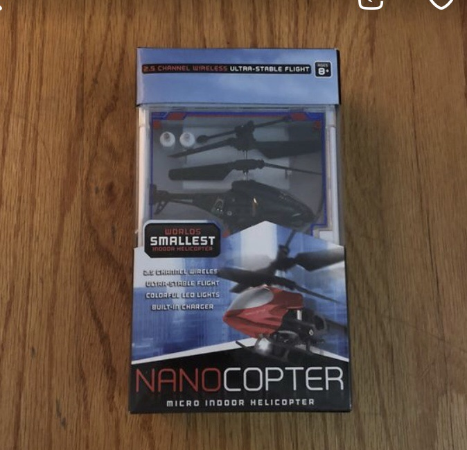 Nanocopter Micro Indoor Helicopter