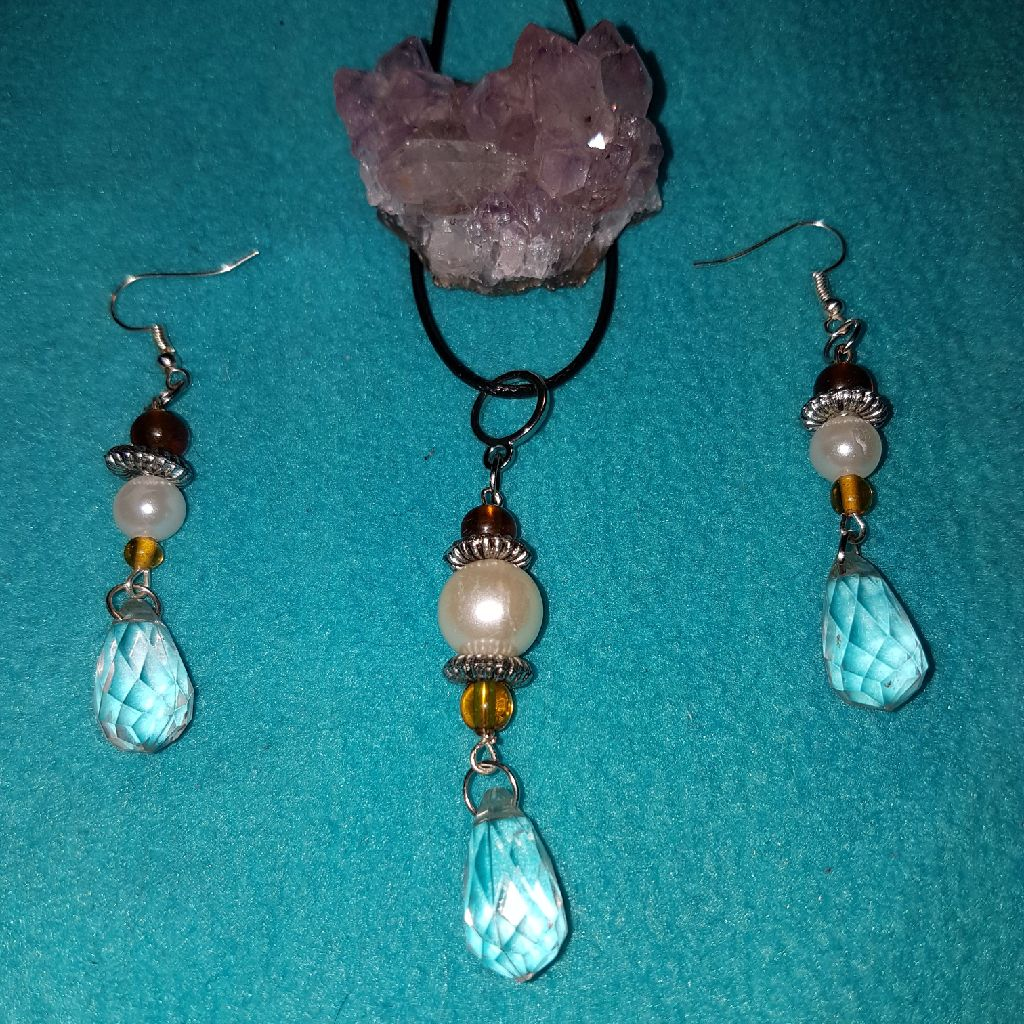 Beautiful handmade jewerlry set