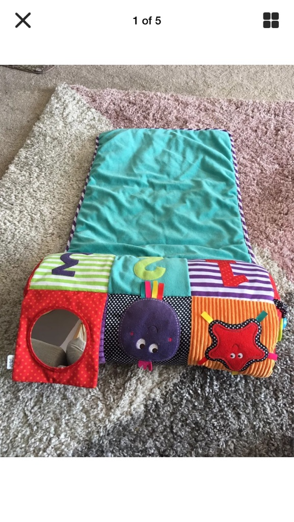 Mamas And Papas 123 Roll Up Playmat Current RRP £33.19