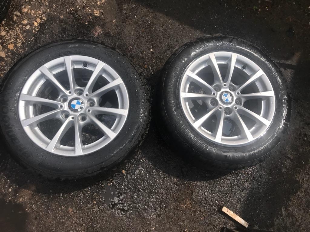 """16"""" genuine BMW alloy wheels"""