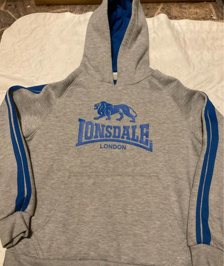 Boys Lonsdale hoodie 11-12 years
