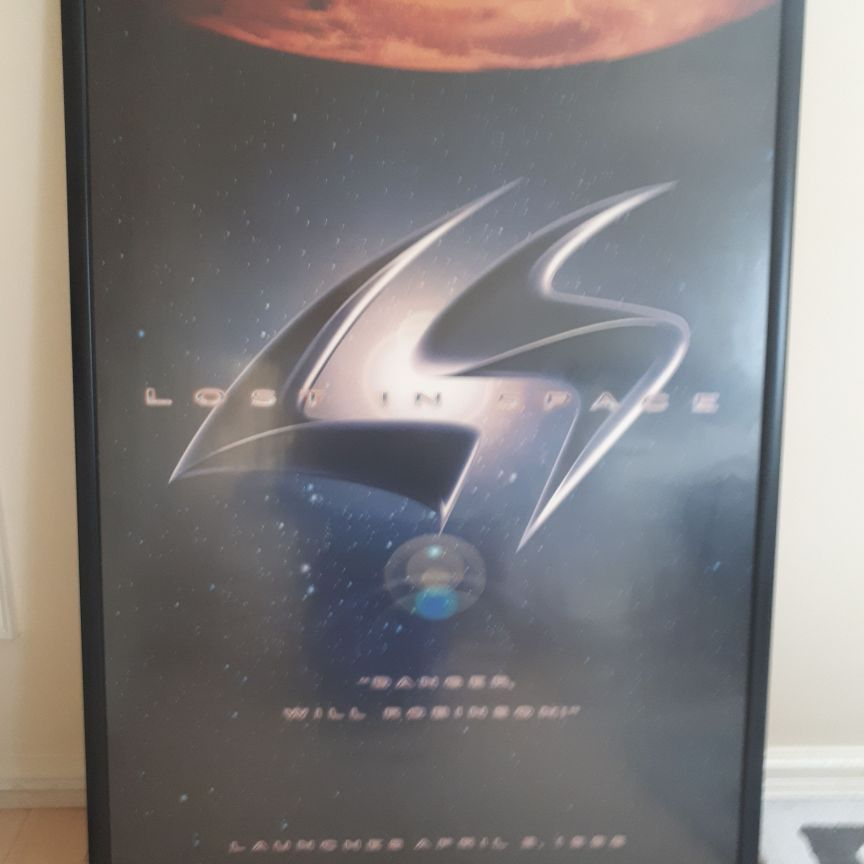 Framed Lost in Space Poster