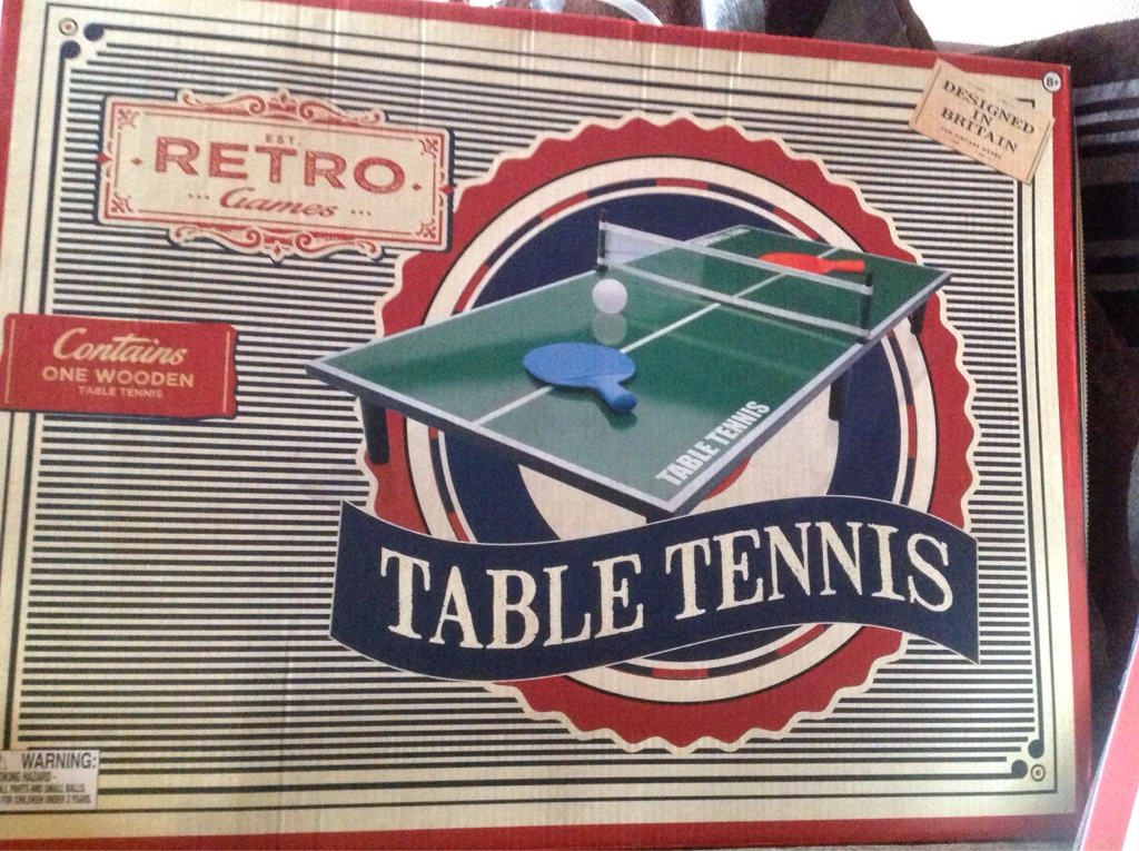Table tennis and Foosball tables