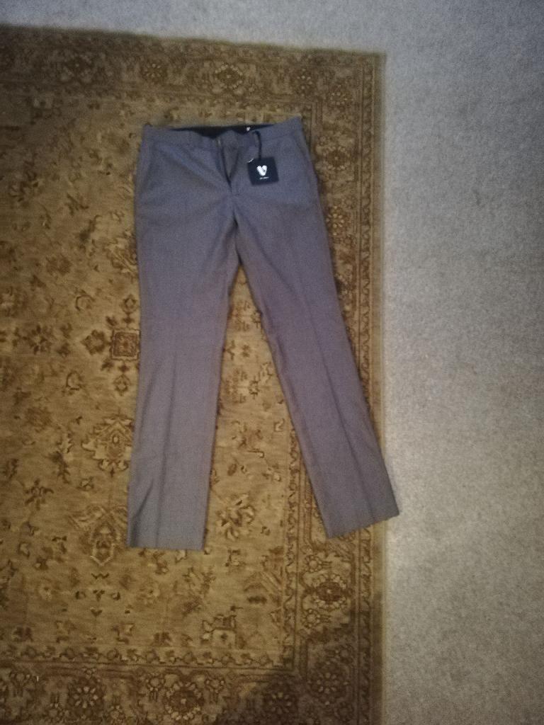 Mens suit trousers