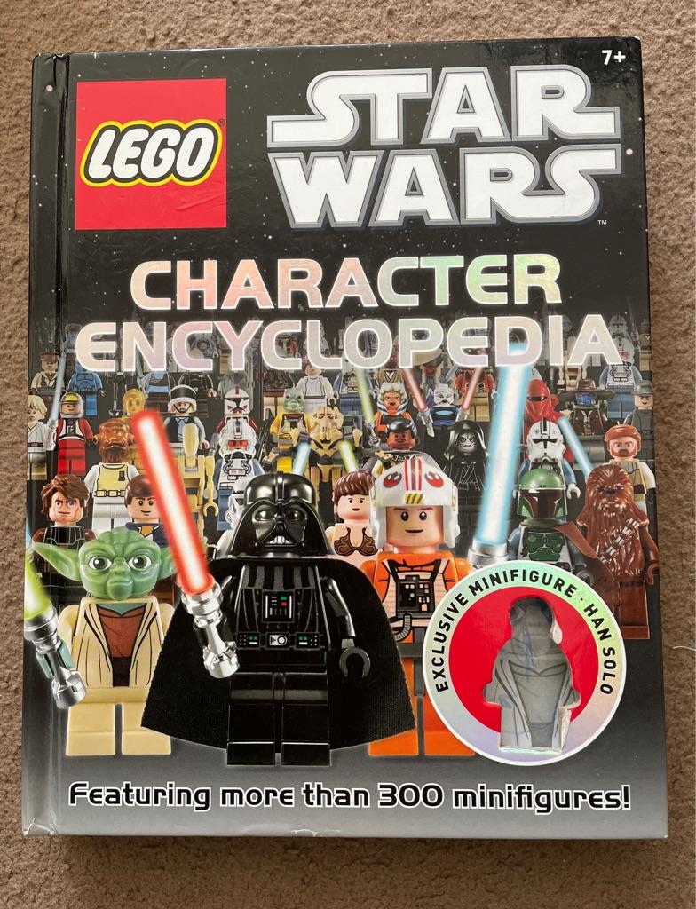 Star Wars character book