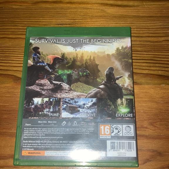 Ark survival - xbox one