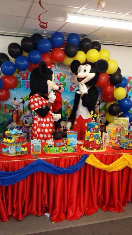Mickey and Minnie Mascot Hire