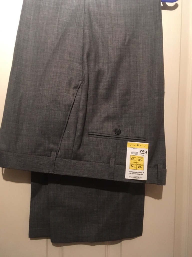 BRAND NEW M&S SUIT TROUSERS