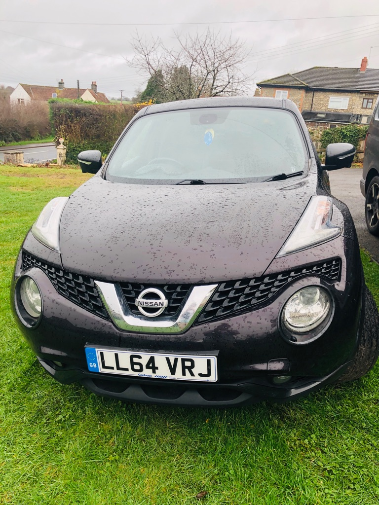 Monsoon black Nissan Juke 2014