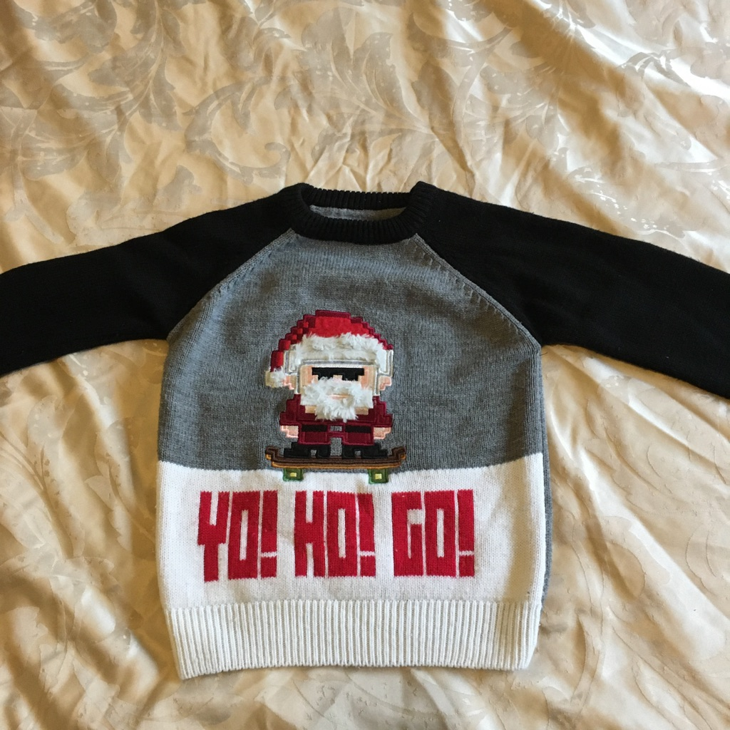 Christmas jumper. Age 5-6 yrs