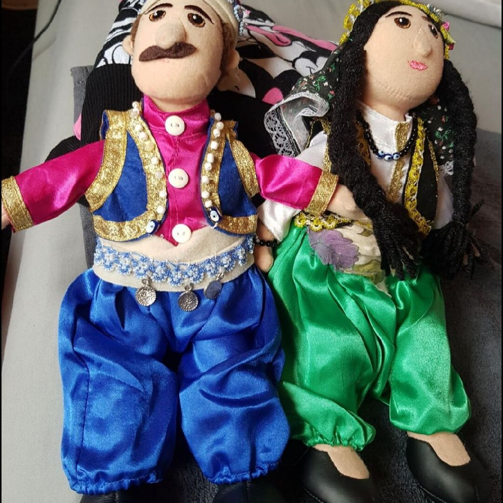 Turkish multicultural dolls £15 both
