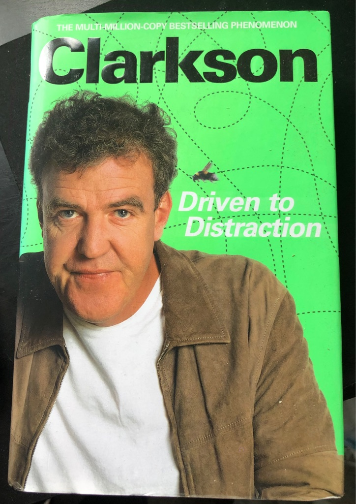 CLARKSON DRIVEN TO DISTRACTION BOOK