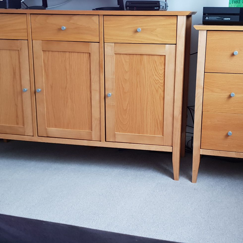 Side board and dvd/cd unit