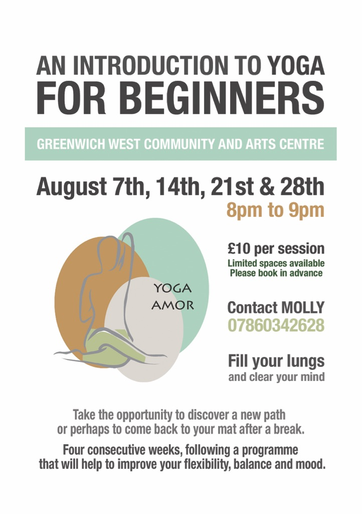 Beginners Yoga Classes - Greenwich