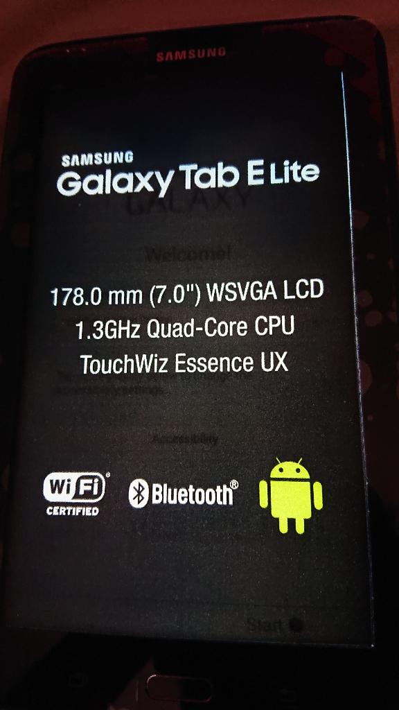 Samsung galaxy Tab elit3