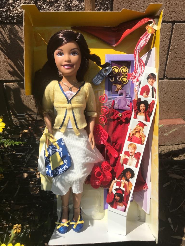 """HSM 3 Gabriella 17"""" Doll"""