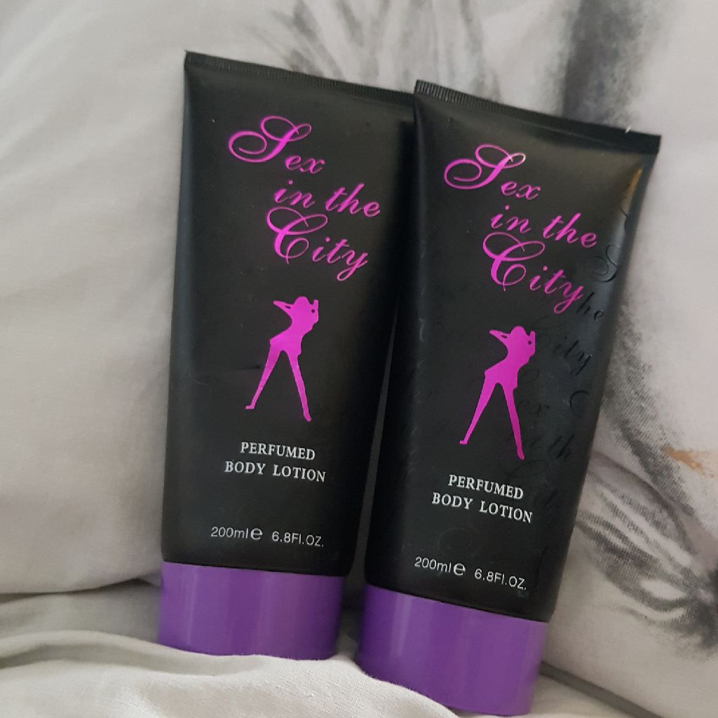 Sex in the city bodylotion