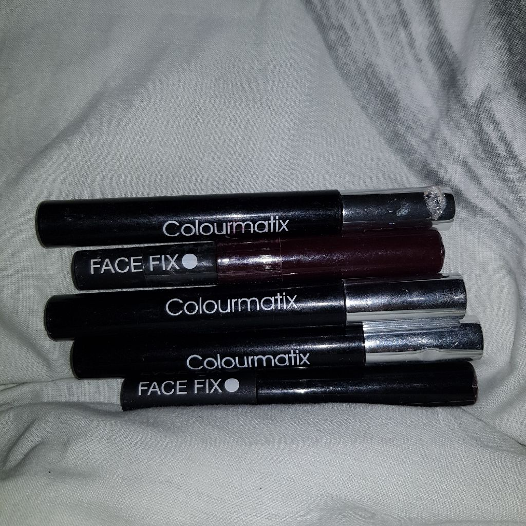 Fixface.  Colourmatix mascara and eyeliner