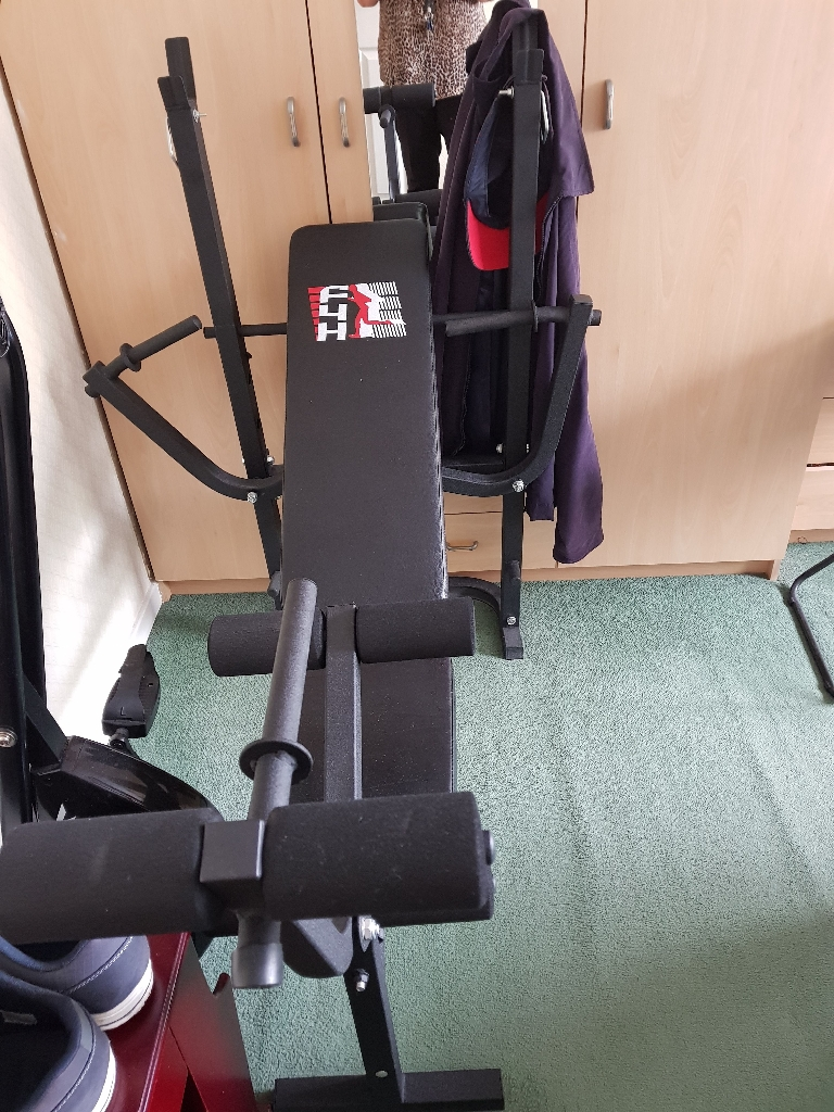 V4H foldable exercise and weights bench