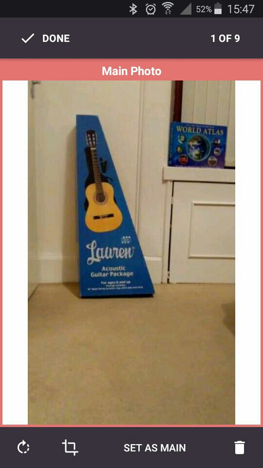 Pre- used Kids Guitar