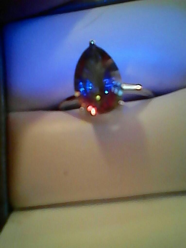 Gorgeous Genuine Mystic Rainbow Topez.. $45. FIRM