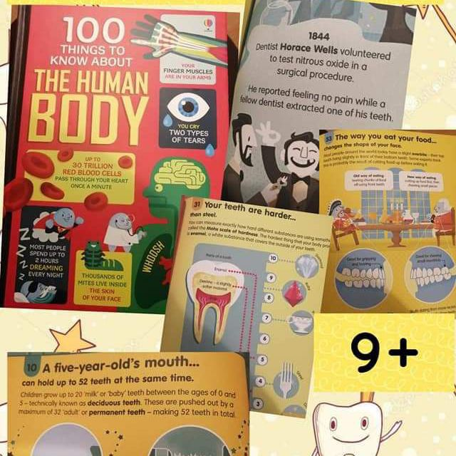 100 things to know fact books