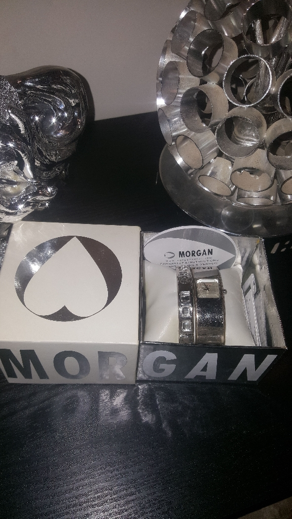Morgan watch and Bracelet.