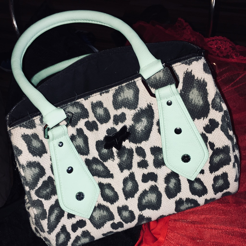 Fox Leopard purse