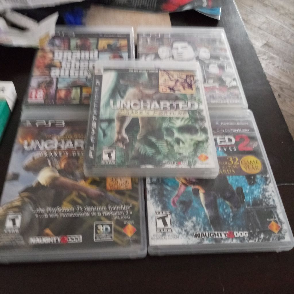 PS3 and 5 games