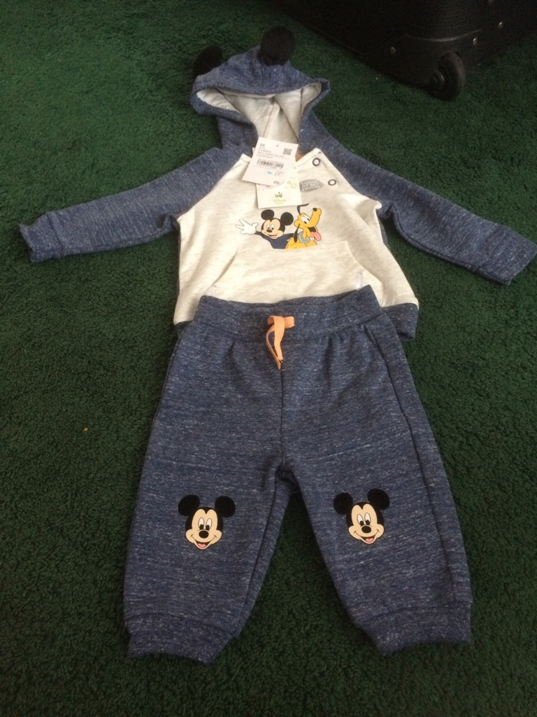 Disney Mickey Mouse Clothes - 3-6 Months