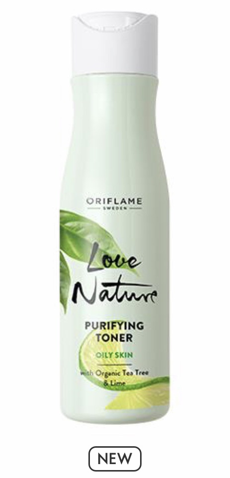 Purifying Toner with Organic Tea Tree & Lime