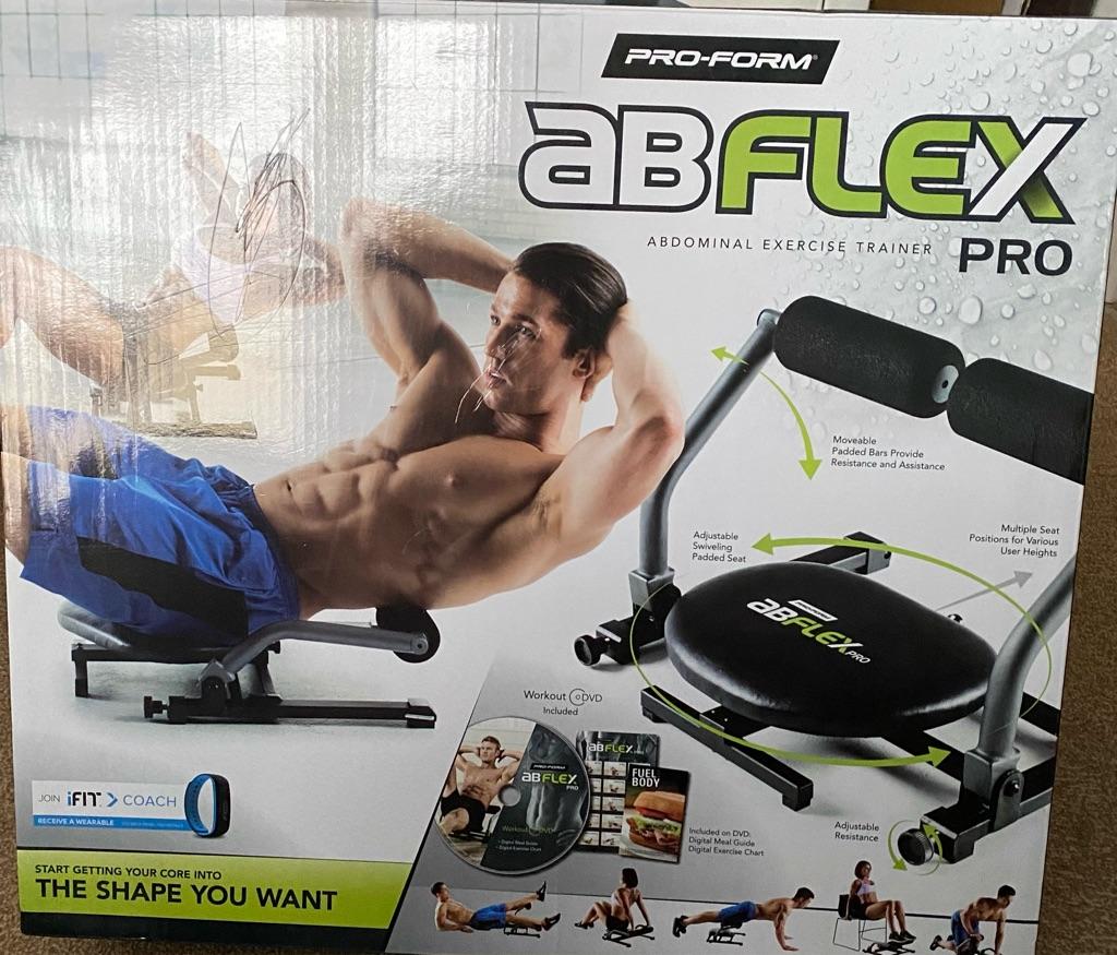 Proform Unisex's AB Flex Pro Exercise Kit Black