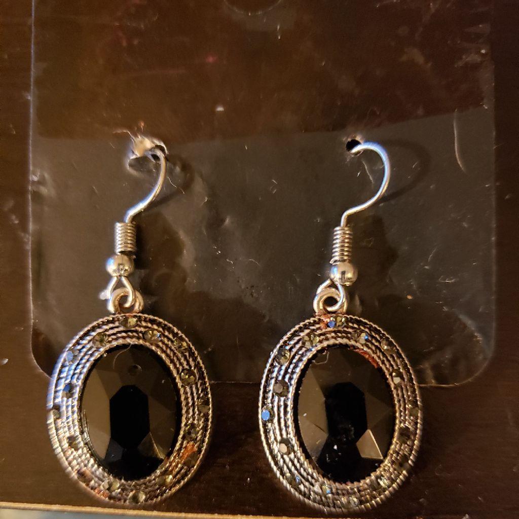 Sterling Silver Hook Earrings