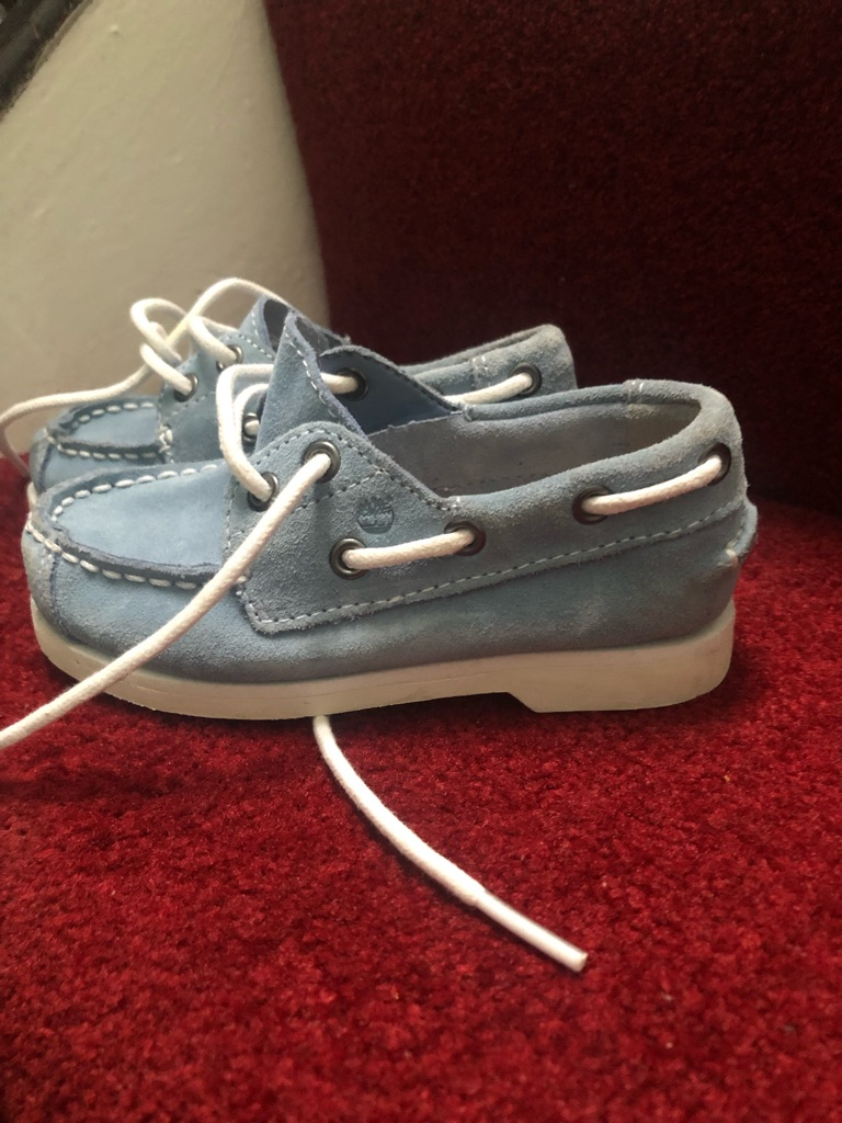 Boys new timberland shoes