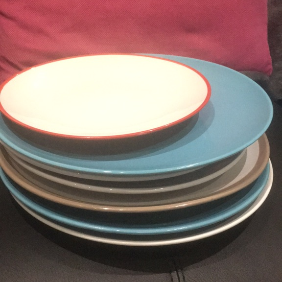Small and large plates