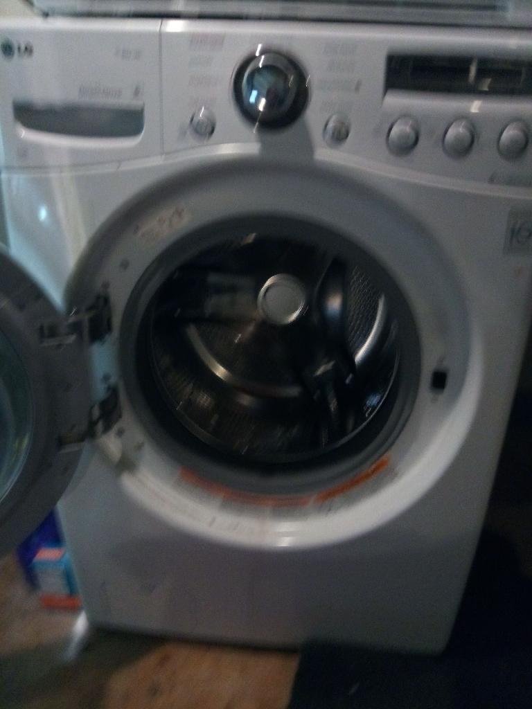 LG steam washer &  ventless dryer