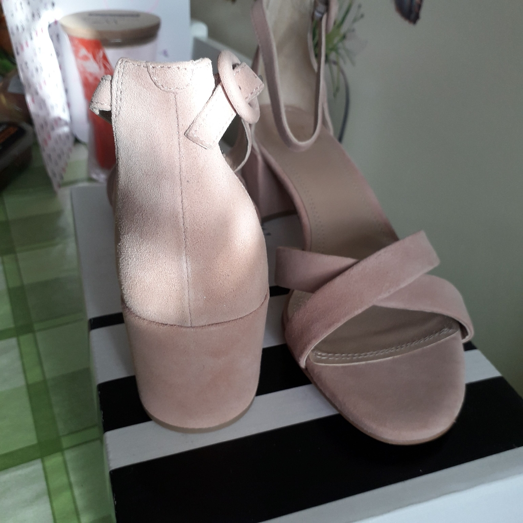 John Lewis Suede Leather Sandals New With Box RRP£85.00