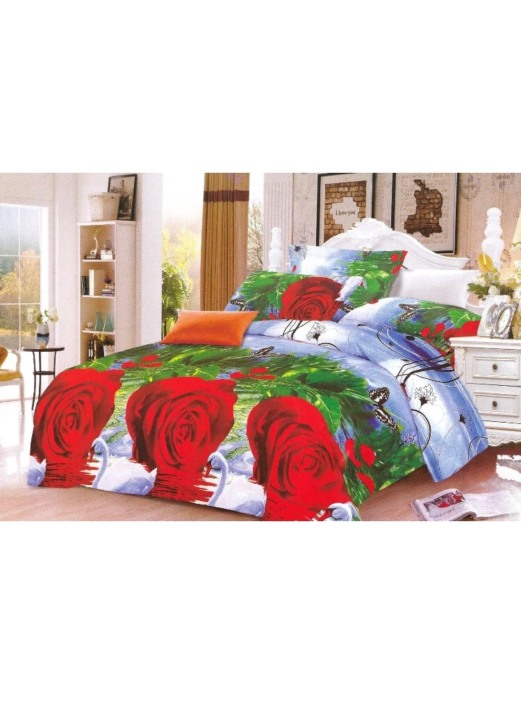 LUXURY BED LINEN COTTON 100%-MODERN YOUTHFUL  KING SIZE-