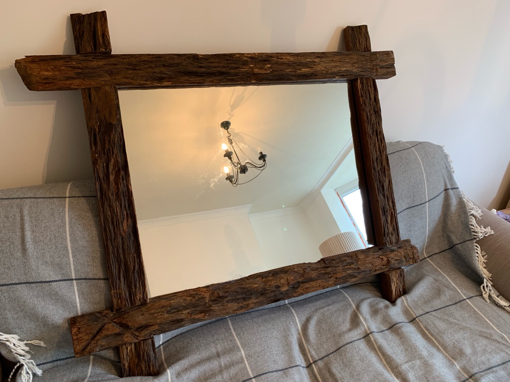 Mirror large driftwood, £25 collection only