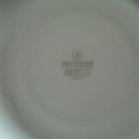 Arcopal decoration plate