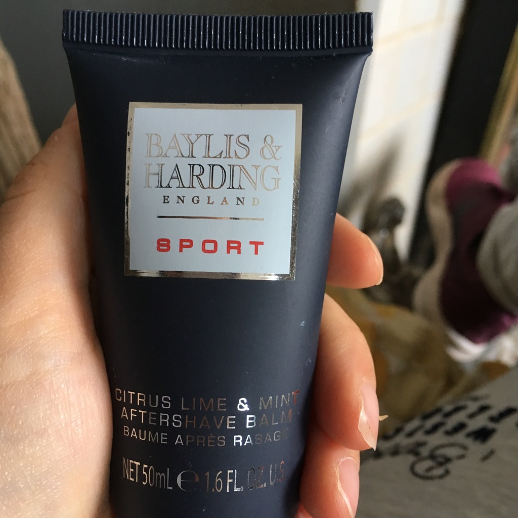 Baylis and Harding citrus lime and mint aftershave balm