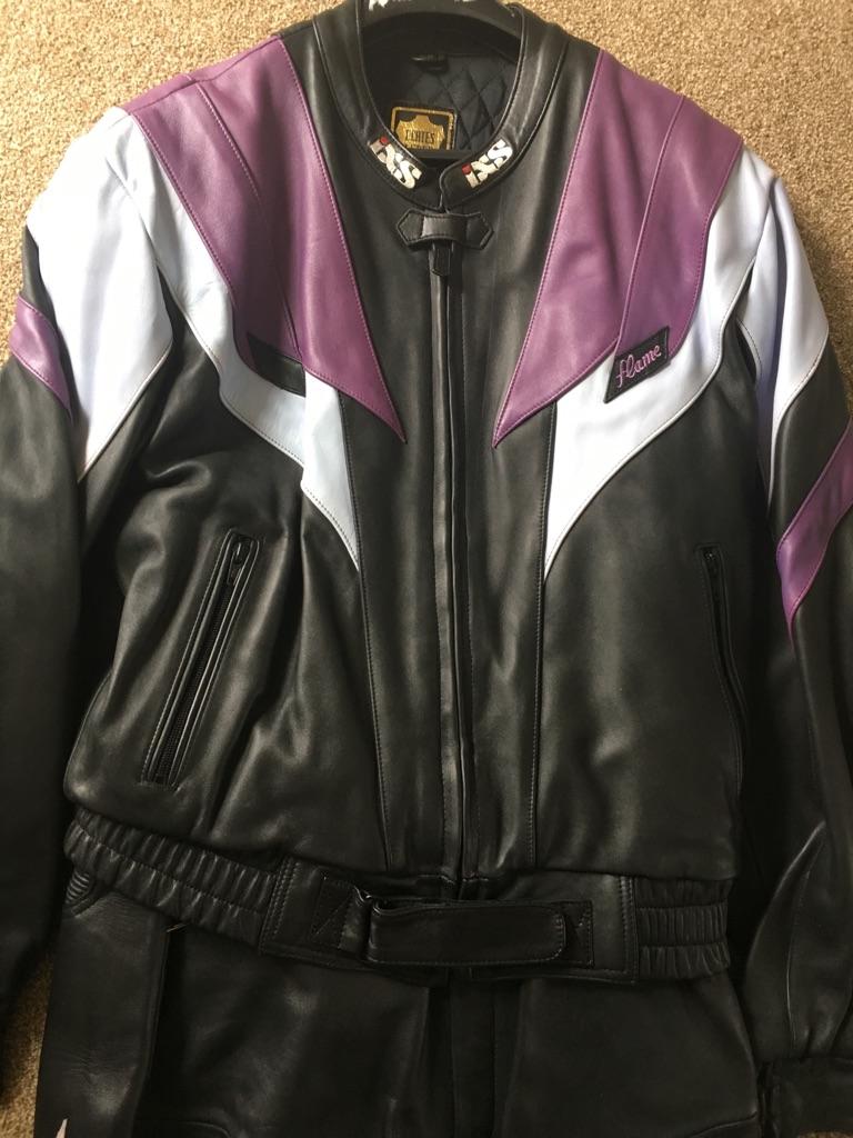 Motorbike leathers (2 piece)