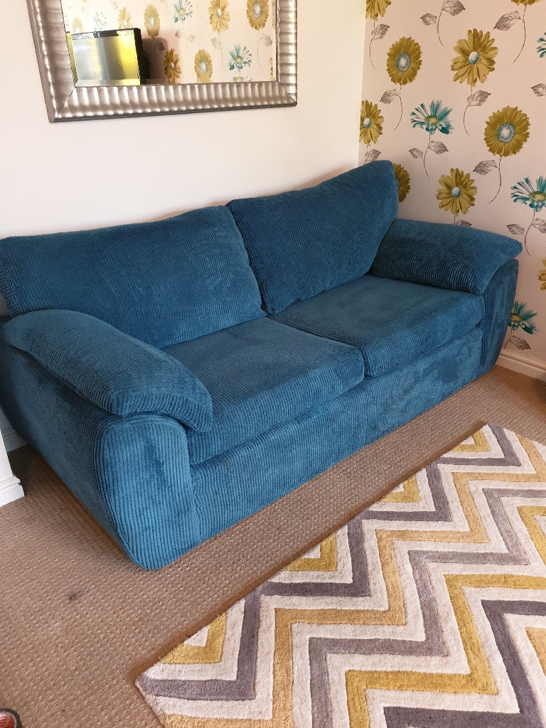 Large two seater sofas x 2