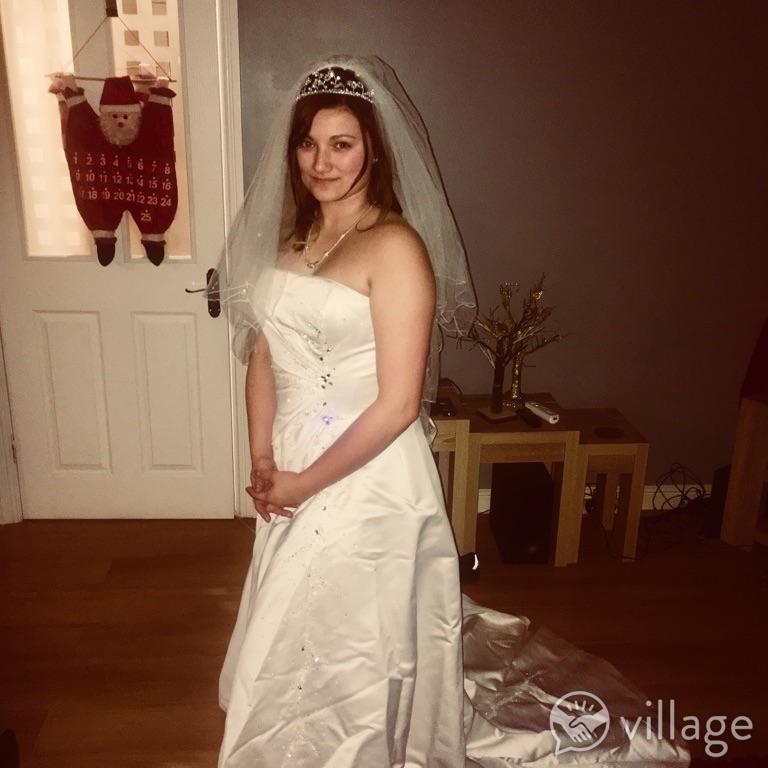 Nicoletti Rossini wedding dress