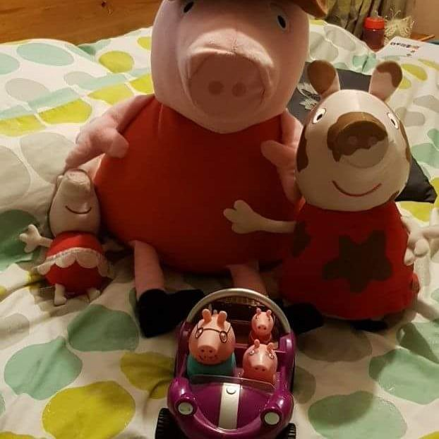 Pepper pig toys
