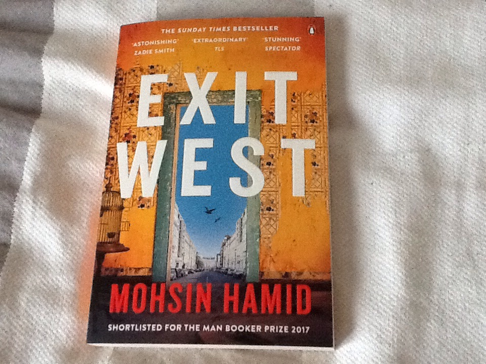 Exit West by Moshin Hamid (paperback)